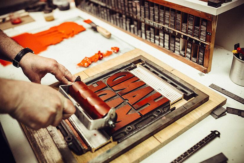 Stampa tipografica per personalizzare qualsiasi tipo di stampato.