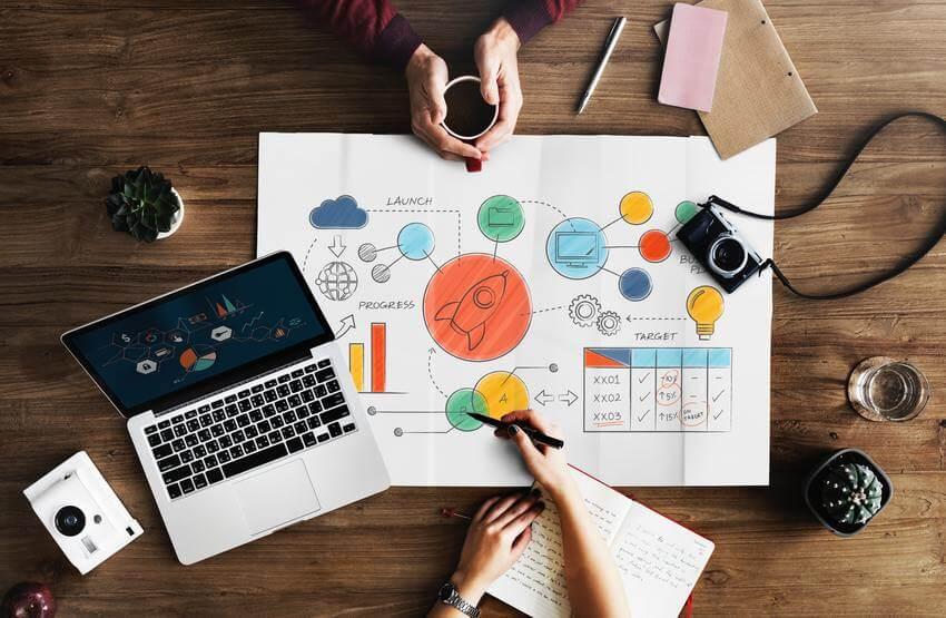 Infografica progetto aziendale