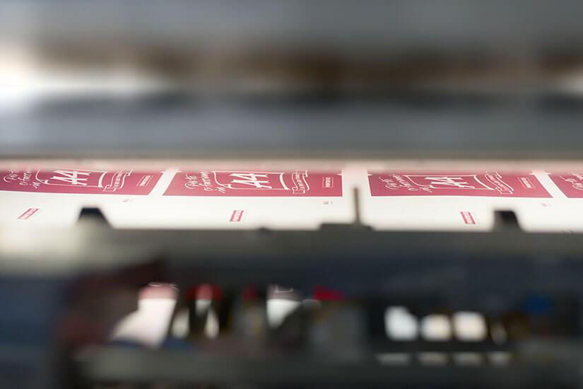 Foglio macchina di Printered. Il portale della stampa online.