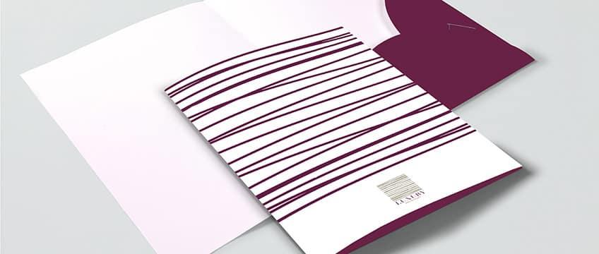 Cartellina porta documenti