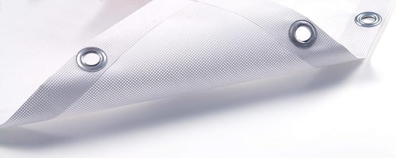 Striscione microforato in rete mesh