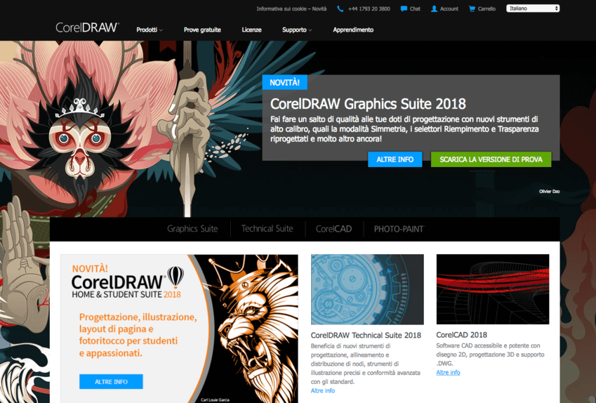 I migliori programmi di grafica: Corel Draw