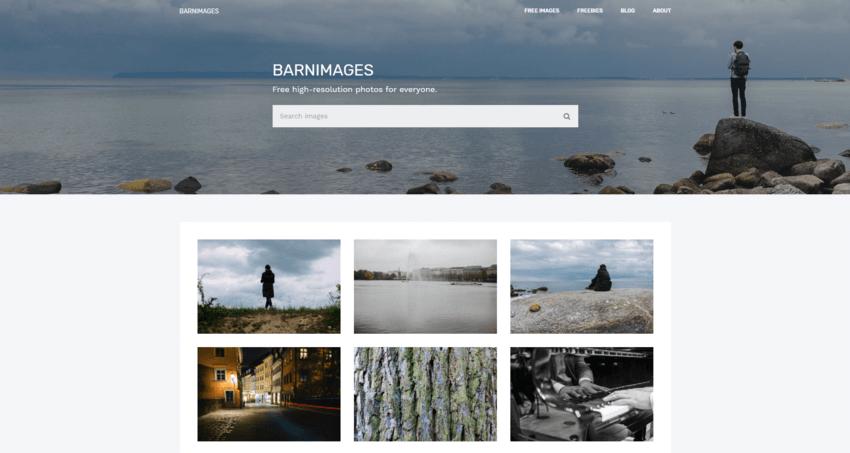I migliori siti per immagini senza copyright: Barn Images