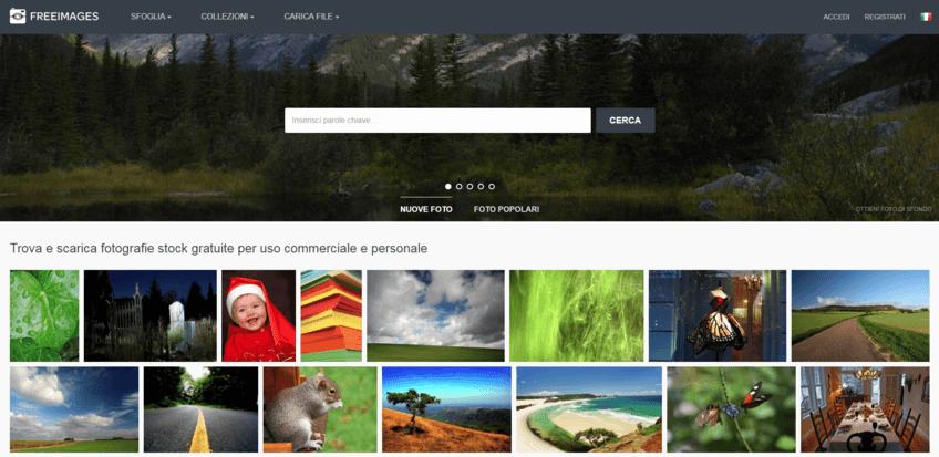 I migliori siti per immagini senza copyright: Free Images