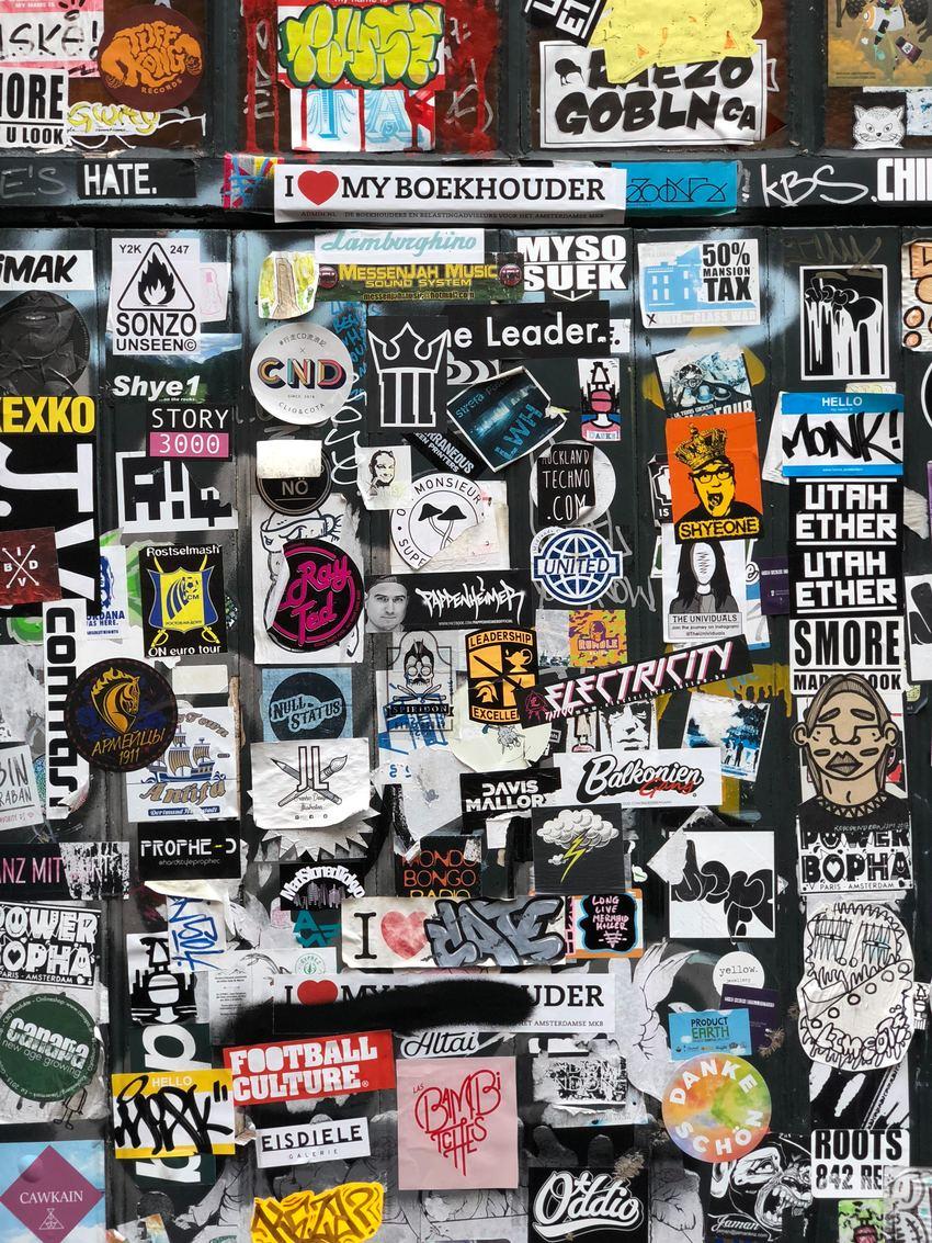 Sticker Art: l'arte dell'adesivo