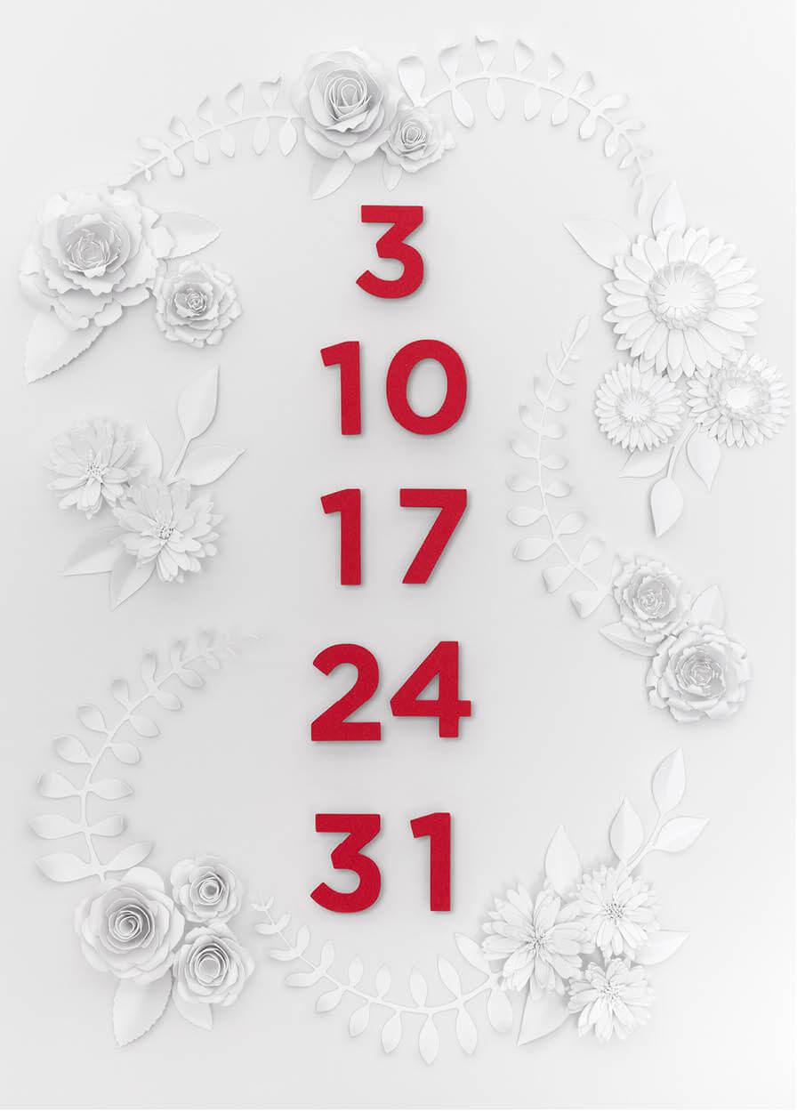Calendario Adriana Napolitano