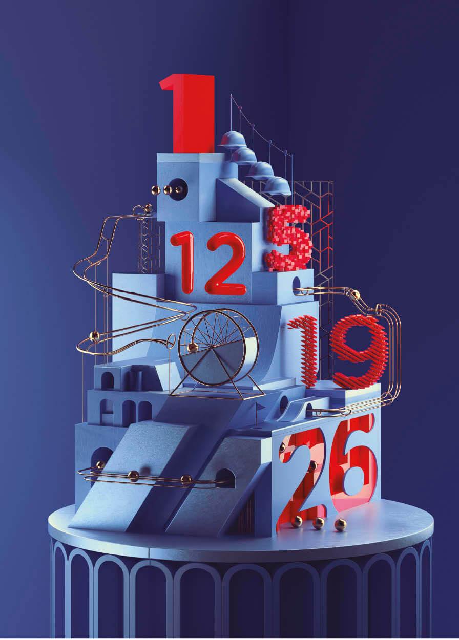 Calendario Studio B612