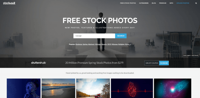 siti dove trovare e scaricare foto gratis: Stockvault