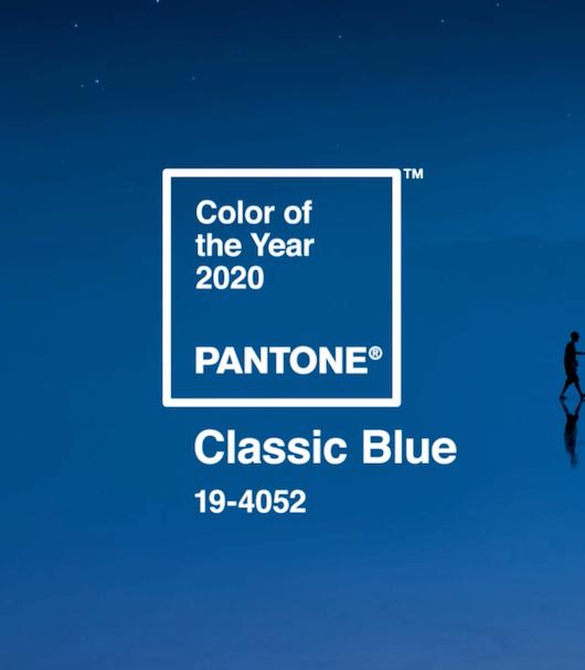 Pantone® e il Classic Blue, la nuance del 2020