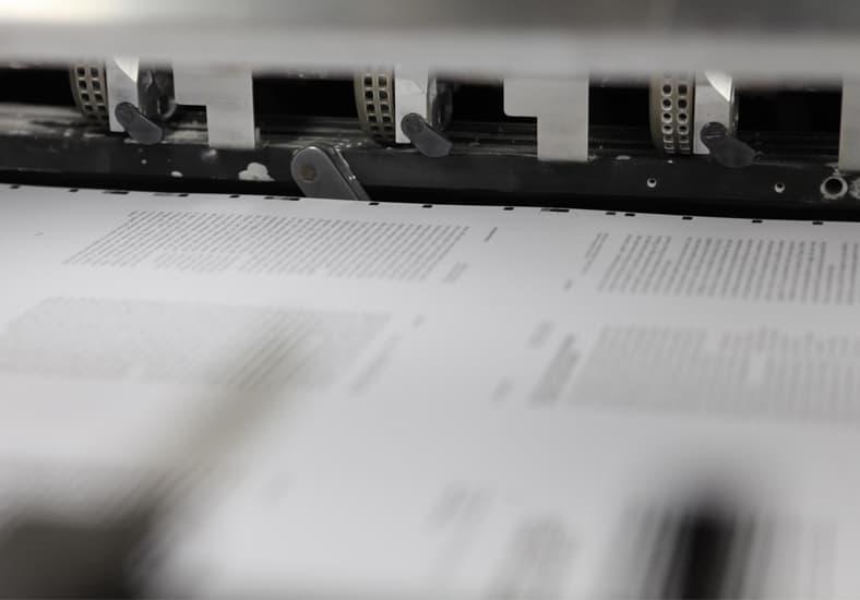 stampa fogli macchina