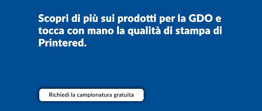 Stampa Volantini promozionali GDO