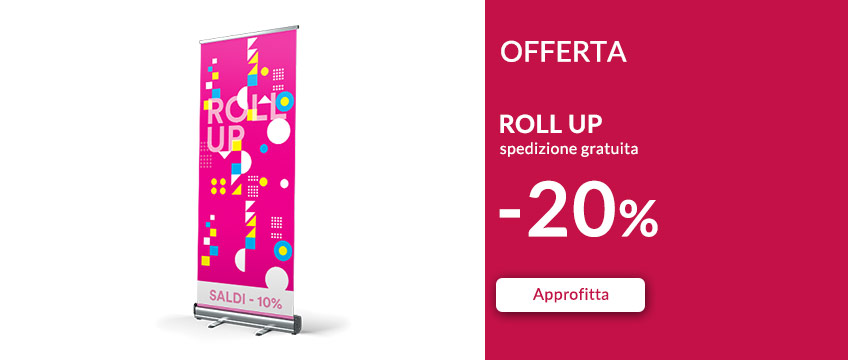 Stampa Roll up classico