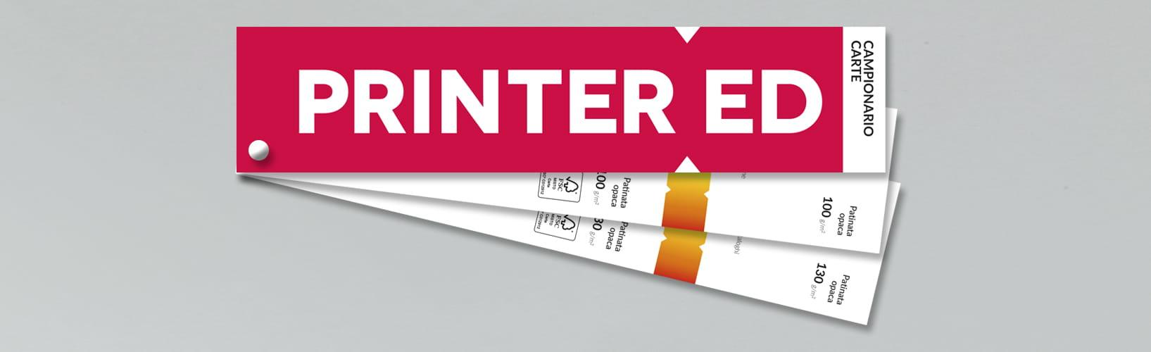 Stampa Campionario Printered