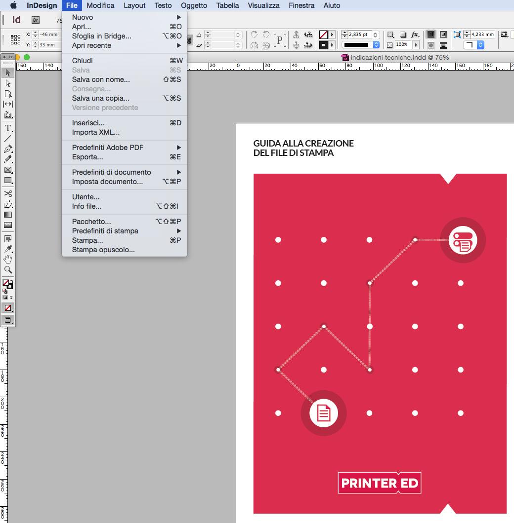 Esportazione pdf
