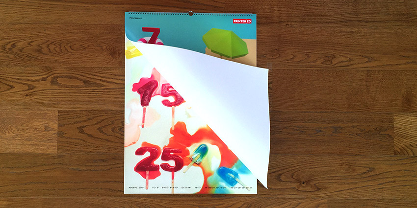 Calendario Printered