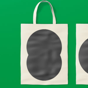 shopper in tessuto