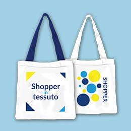Shopper di tessuto