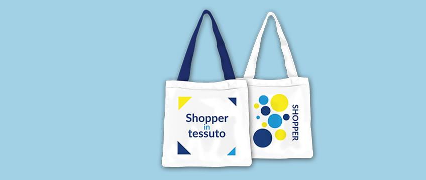 Stampa Shopper di tessuto