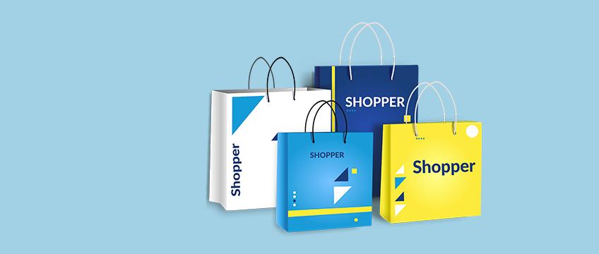 Stampa Shopper di carta